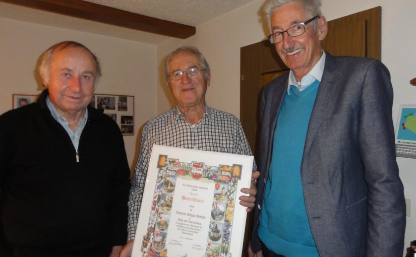 Hohe Auszeichnung für Manfred Trippolt